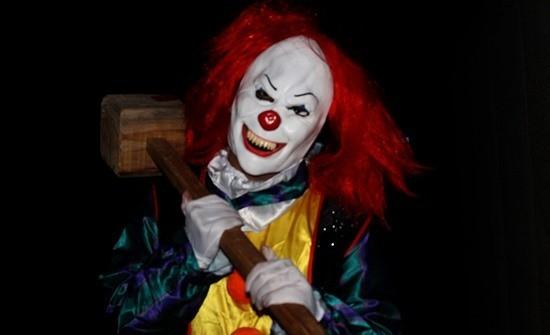 клоун убийца картинка