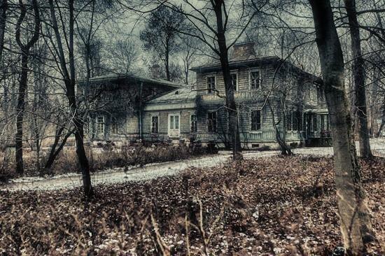 Проклятый дом страшилка картинка