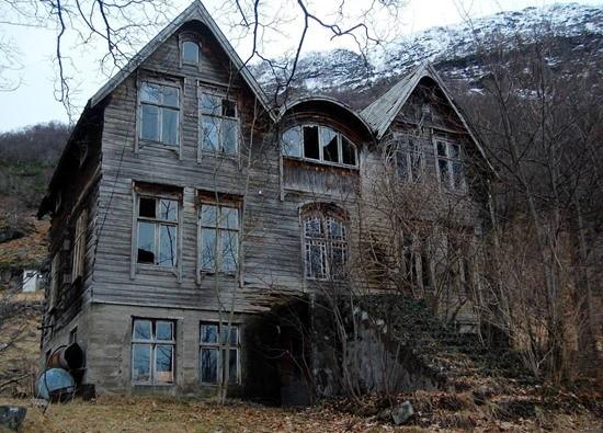 Страшилка Заброшенный дом