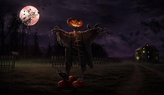 Страшилки на Хэллоуин читать картинка