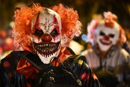 страшные клоуны фото страшилка