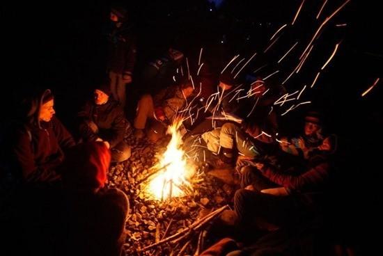 Призрак в крымском лесу страшилка