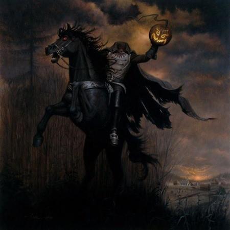 всадник без головы страшилка легенда