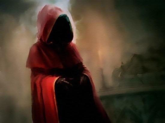Человек в красном плаще страшная история