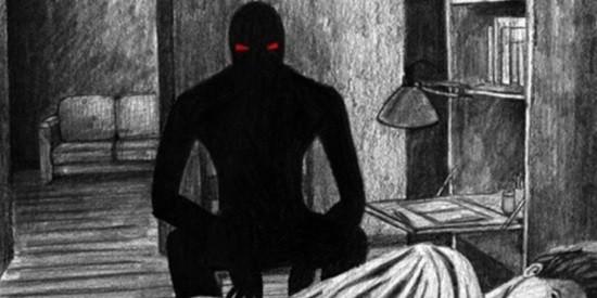 Черный человек страшилка