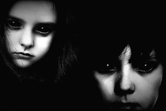 Дети с черными глазами картинка