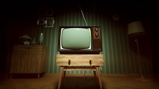 Старый телевизор страшилка картинка