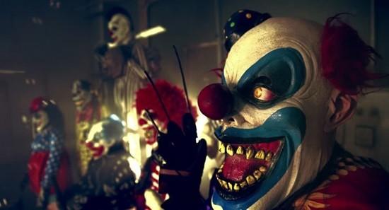 Шоу клоунов страшилка картинка