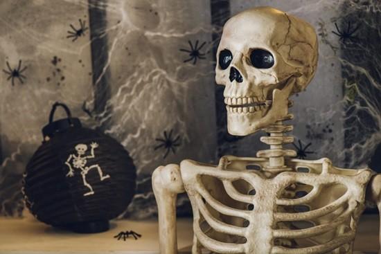 скелет страшилка картинка
