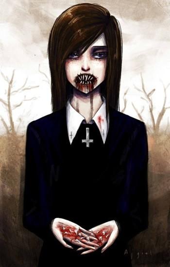 страшный призрак девушка убийца