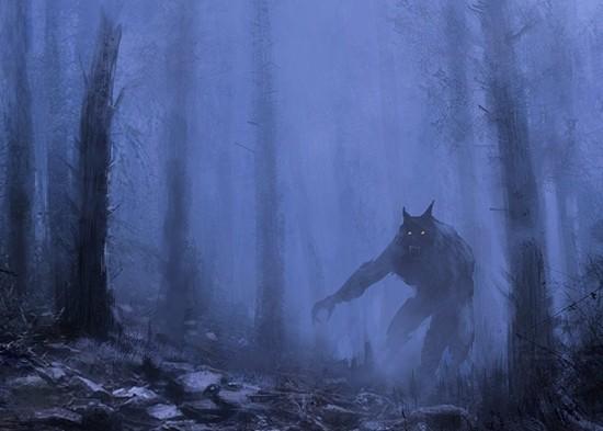 Оборотень в лесу