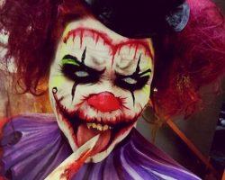 самые страшные клоуны фото (21)