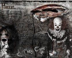 самые страшные клоуны фото (30)