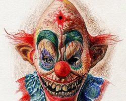 самые страшные клоуны фото (40)