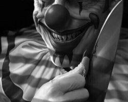 самые страшные клоуны фото (41)