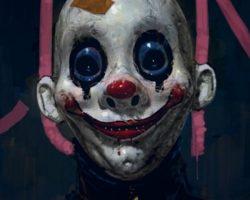 самые страшные клоуны фото (49)