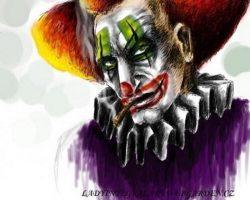 самые страшные клоуны фото (53)