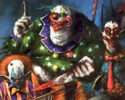 самые страшные клоуны фото (58)
