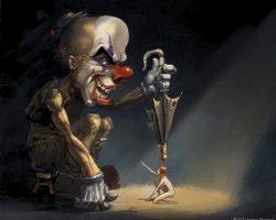 самые страшные клоуны фото (66)