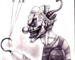 самые страшные клоуны фото (68)