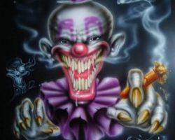 самые страшные клоуны фото (73)