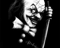самые страшные клоуны фото (82)