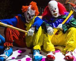 самые страшные клоуны фото (93)