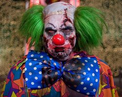 самые страшные клоуны фото (96)