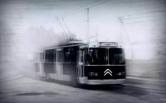 Черный троллейбус страшилка
