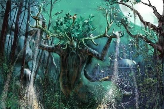 Лесной дух мистическая история
