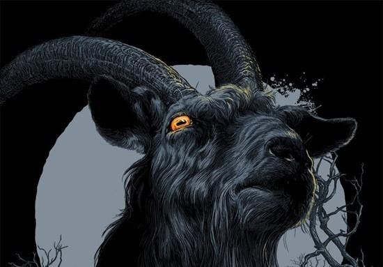 Черный козел страшилка
