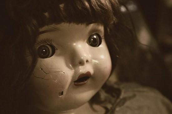 кукла убитой девушки страшная история
