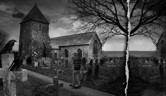 прогулка ночью по кладбищу