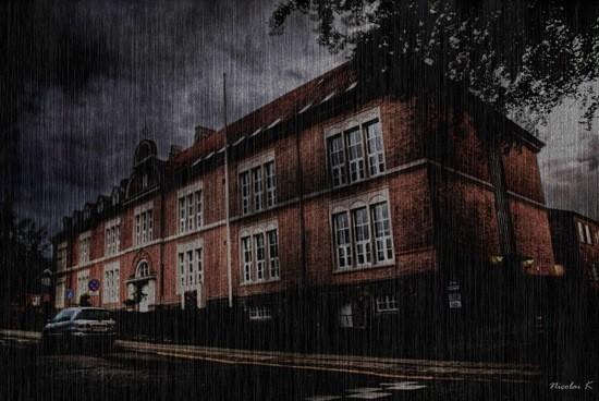 страшная школа с привидениями