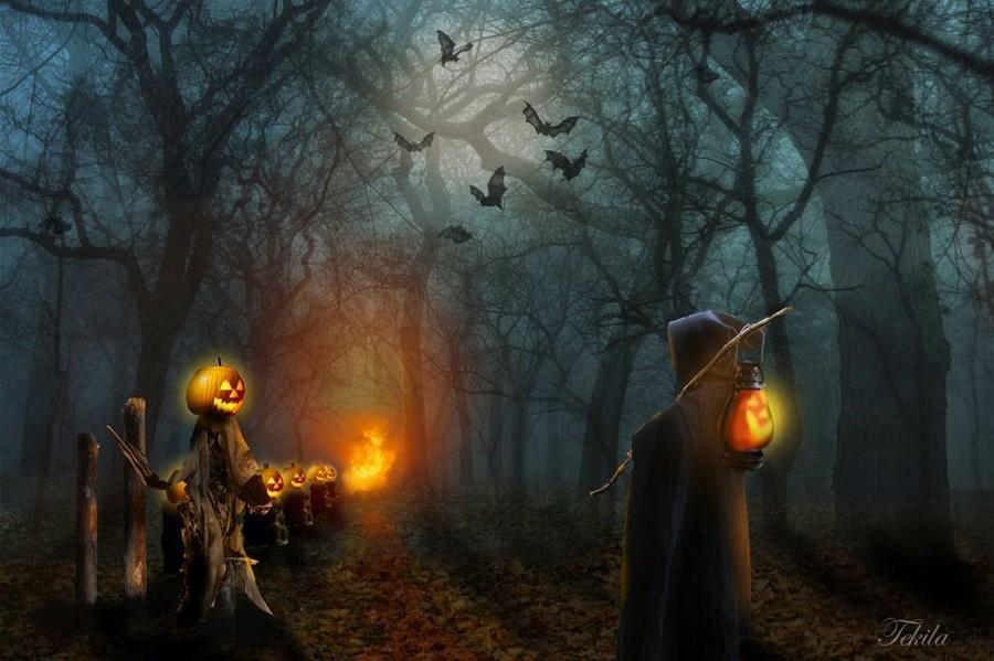 Хэллоуин легенды картинки