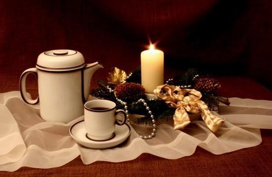 кофе в Рождество страшилка