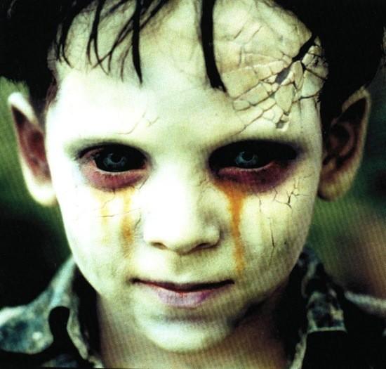 мальчик зомби картинка