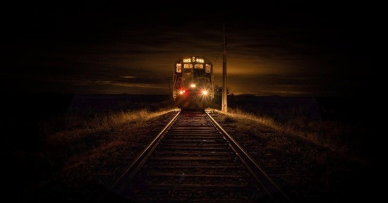 машинист поезд ночь ужас