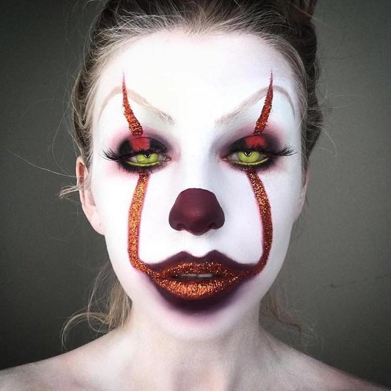 картинки для рисования на лице на хэллоуин такая деталь