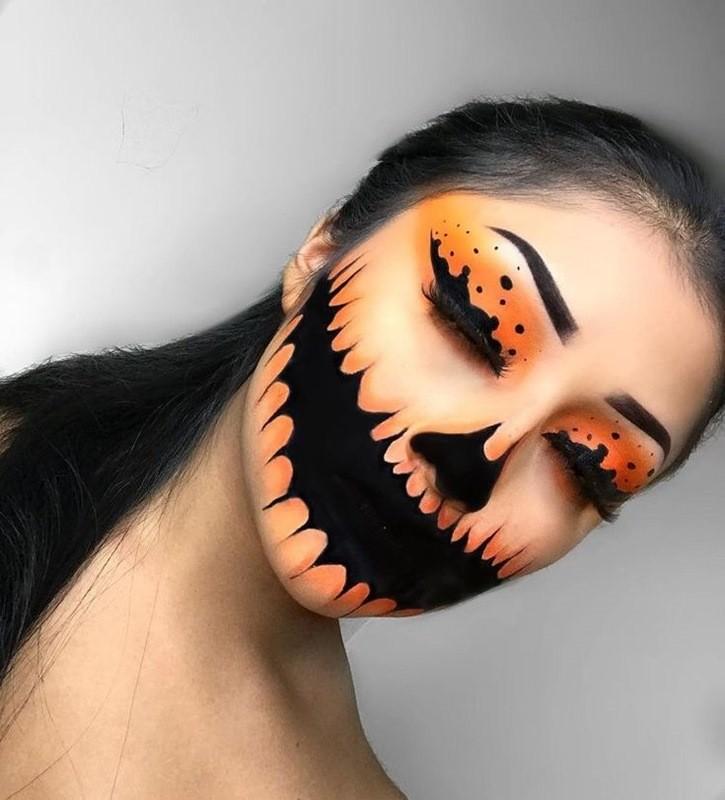 Нарисовать страшные картинки на лице