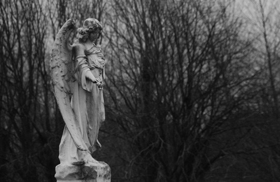Статуя Ангела страшилка картинка