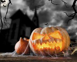 тыква на Хэллоуин фото (1)