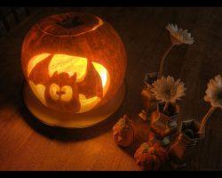 тыква на Хэллоуин фото (10)