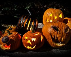 тыква на Хэллоуин фото (12)