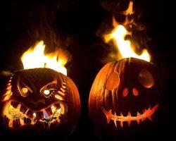 тыква на Хэллоуин фото (13)