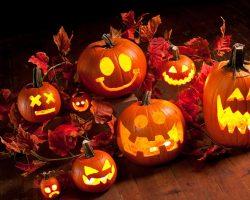 тыква на Хэллоуин фото (15)