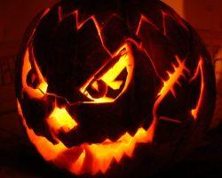 тыква на Хэллоуин фото (17)
