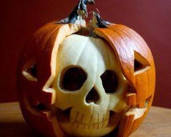 тыква на Хэллоуин фото (2)