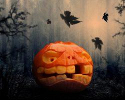 тыква на Хэллоуин фото (24)