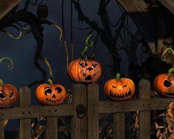 тыква на Хэллоуин фото (29)